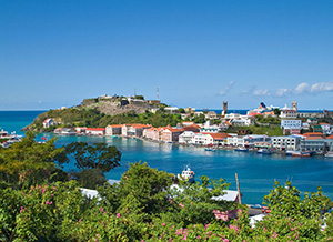 View From St. George's Grenada